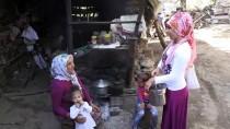 Anne Ve Kızlarının Zorlu Yayla Mesaisi