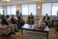 SELIM YAĞCı - Başkan Duymuş'un Ankara Temasları