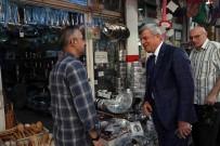 İBRAHIM KARAOSMANOĞLU - Başkan Karaosmanoğlu Esnaflarla Buluştu