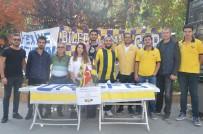 GENÇ FENERBAHÇELİLER - Bilecik UNI Genç Fenerbahçeliler Taraftar Grubu'ndan Takımına Tam Destek