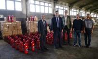 YANGIN TÜPÜ - Köylere Yangın Söndürme Tüpü Dağıtılacak
