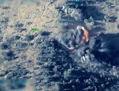 Kuzey Irak'a hava harekatının görüntüleri