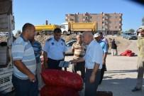 PAZARCI ESNAFI - Nurdağı'nda Zabıtalar Pazarcı Tezgahlarını Denetledi