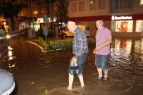 Trabzon'un Araklı İlçesinde Şiddetli Yağış Etkili Oldu