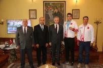 DAVUT GÜL - Vali Gül, Başarılı Sporcuları Ödüllendirdi