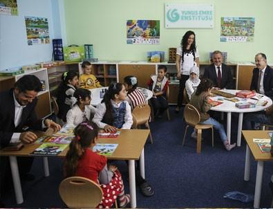 YEE'den Ankara'daki Suriyeli çocuklar için Türkçe sınıfı