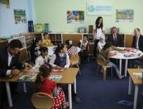 SEÇMELİ DERS - YEE'den Ankara'daki Suriyeli çocuklar için Türkçe sınıfı