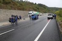 Zonguldak'ta Cip Takla Attı Açıklaması 1'İ Ağır 2 Yaralı