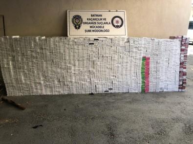 20 Bin 500 Paket Kaçak Sigara Ele Geçirildi