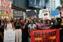 HOLLYWOOD - ABD'de Yargıç Kavanaugh Protestosu