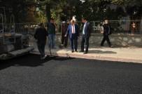 ALT YAPI ÇALIŞMASI - Akşehir'de 24 Ağustos Bulvarında Asfaltlamada Sona Gelindi