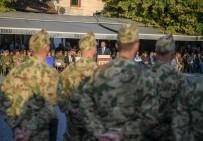 VEDA TÖRENİ - Alman Askerleri Kosova'dan Ayrılıyor