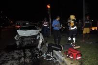 VARSAK - Antalya'da Kazak Sürücülerin Karıştığı Trafik Kazası Açıklaması 5 Yaralı