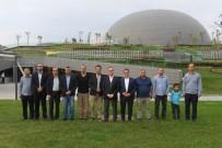 OSMANGAZI BELEDIYESI - Basın İlan Kurumu Ailesi Panorama 1326 Bursa Fetih Müzesi'ni Ziyaret Etti