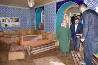 Başkan Gümrükçüoğlu Araklı'daki Sel Bölgesinde İncelemelerde Bulundu