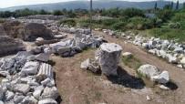 HADRIAN - Defineciler Antik Kentte Dinamit Patlatarak Altın Aradı