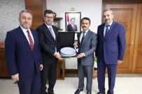 KAPADOKYA - Diyanet İşleri Başkan Yardımcısı Muslu Nevşehir Valisi Aktaş'ı Ziyaret Etti