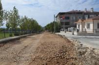 YEŞILTEPE - Ergene'de Sağlık Mahallesi'nde Asfalt Yapım Çalışmaları