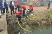 Fabrika Yangınında 10 İşçi Dumandan Etkilendi