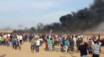 SAĞLIK GÖREVLİSİ - Gazze Sınırında 2 Kişi Şehit Oldu