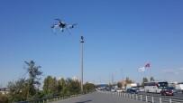 ŞERİT İHLALİ - İstanbul Polisinden Şehirlerarası Yollarda Drone İle Uygulama