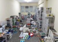 DERS KİTAPLARI - İzmir'de 10 Bin 380 Bandrolsüz Kitap Ele Geçirildi