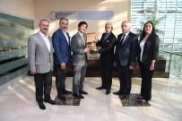 ERTUĞRUL FıRKATEYNI - Japon Büyükelçi Miyajima ATSO'yu Ziyaret Etti