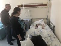 KAFKAS ÜNİVERSİTESİ - Kars Kafkas Üniversitesi'nde 4 Yaşındaki Rus Çocuğa Böbrek Taşı Ameliyatı