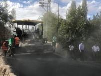 AHMET ARSLAN - Kars'ta Asfalt Çalışmaları Devam Ediyor