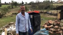 (Özel) 3 Ton Odun Ve 1 Ton Kömürü Sele Kapılan Vatandaş Yardım İstedi