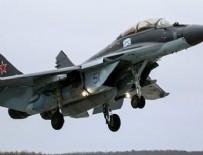 MOSKOVA - Rusya'da uçak düştü