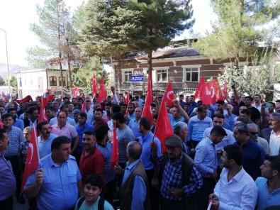 Sason'da PKK'ya Lanet Yağdı