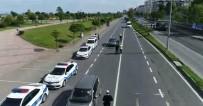HATALı SOLLAMA - Trabzon İl Genelinde Drone İle Trafik Denetimleri Başladı