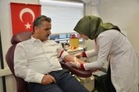 ORGAN NAKLİ - Vali Kaymak, Kan Bağışında Bulundu