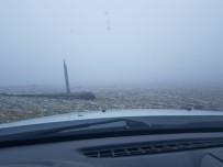 GÜNEŞLI - Ardahan'ın Yüksek Kesimlerine Kar Yağdı