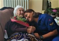 Askerlerden 104 Yaşındaki Şehit Kızına Vefa