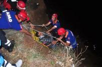 Baraja Düşen Şahsa Nefes Kesen Kurtarma Operasyonu