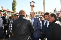 Başkan Altay Derbent Ve Hüyük'te İncelemelerde Bulundu