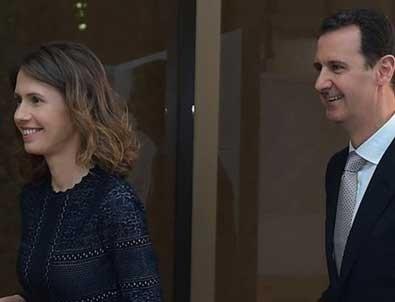 Beşar Esad'ın eşinin son görüntüsü şaşırttı!