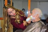 YAŞLILAR HAFTASI - Gönüllü Kuaförlerden Yaşlılara Saç Ve Cilt Bakımı