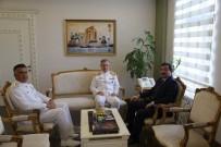 Kuzey Deniz Saha Komutanı Tümamiral Ertem'den Valiliğe Ziyaret