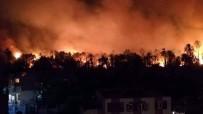İTFAİYE ERİ - Mısır Vadi Cedid'de 104 Dönüm Hurma Bahçesi Yandı