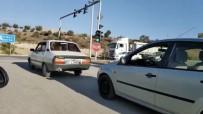 Rahatsızlanan Buzağı Veterinere Otomobille Götürüldü