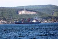 KARGO GEMİSİ - Rus Askeri Gemisi, Çanakkale Boğazı'ndan Geçti