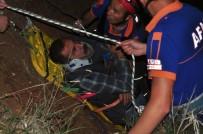Uçurumdan Baraja Düşen Alkollü Şahsa, Nefes Kesen Kurtarma Operasyonu