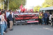 DEMOKRASİ PARKI - Adıyaman'da Teröre Tepki Yürüyüşü