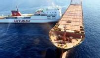 VIRGINIA - Akdeniz'de İki Gemi Çarpıştı