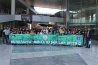 Büyükorhan'lı Öğrencilerin İlk Maç Heyecanı
