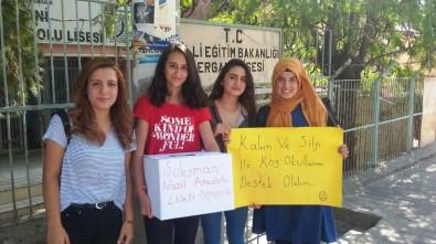 Ergani'de KPSS'den Kalan Kalem Ve Silgiler Köy Okullarına