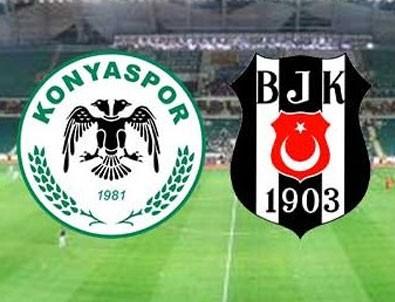 Beşiktaş Konya'dan 1 puanla döndü